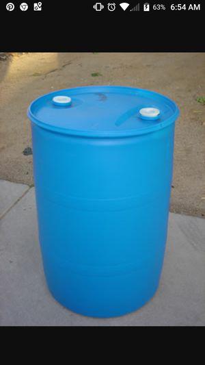 55 gallon close top barrels food grade for Sale in Perris, CA