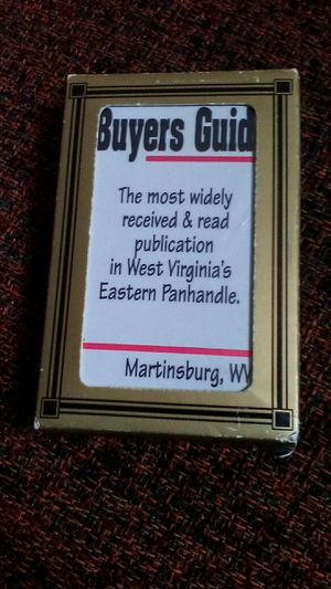 The Buyers Guide Playing Cards for Sale in Martinsburg, WV