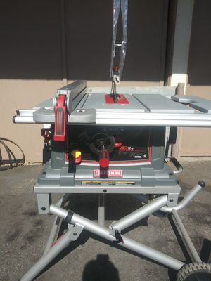 """Craftsman 10""""table saw with folded stand for Sale in Torrance, CA"""