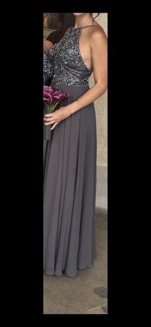 Jovani Silver/Gray Bridesmaid dress for Sale in Phoenix, AZ