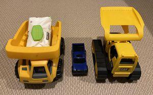 Toy Trucks (Tonka, CAT, Little Tikes) for Sale in Aldie, VA