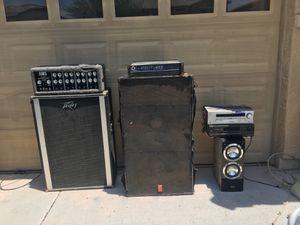 Dj speakers / amplifiers(Home/speaker) $400 OBO NEED IT GONE ASAP!!!! for Sale in Phoenix, AZ