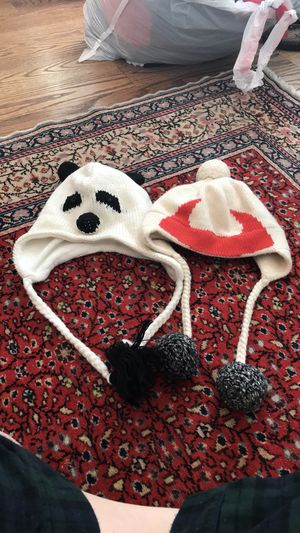 Kate Spade Devil Beanie and Panda for Sale in Washington, DC