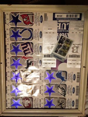 FULL SEASON OF COWBOYS STUBS EVEN PLAY OFFS for Sale in Arlington, TX
