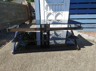 Glass TV Stand for Sale in Rainier,  WA