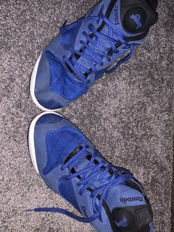 Used Reebok Court Victory Pump (Royal Blue) Size 12 for Sale in Boston,  MA