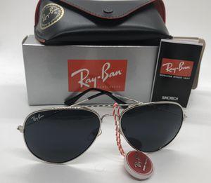 NEW Ray Ban POLARIZED aviator sunglasses for Sale in Keller, TX
