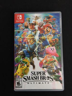 Nintendo Switch- Super Smash Bros. Ultimate for Sale in Sacramento, CA