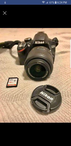 Nikon d3200 $250 for Sale in Lakewood, WA