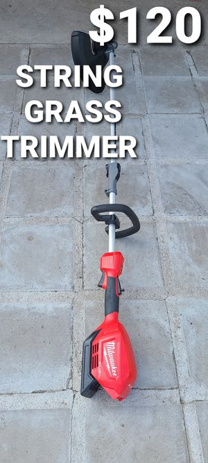 Milwaukee string grass trimmer fuel for Sale in Fontana, CA