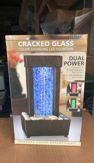 Color changing led fountain for Sale in Costa Mesa, CA