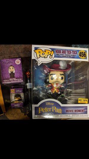 Disney villains funko pop for Sale in San Bernardino, CA