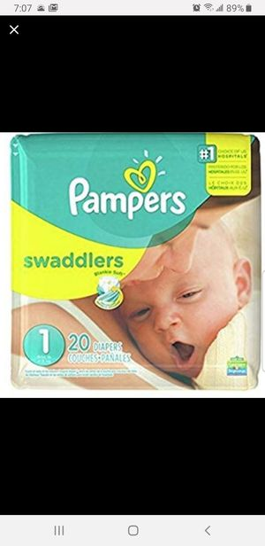 Pampers diapers for Sale in Sugar Land, TX