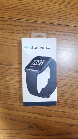 Fitbit Versa - Black for Sale in Lisle, IL