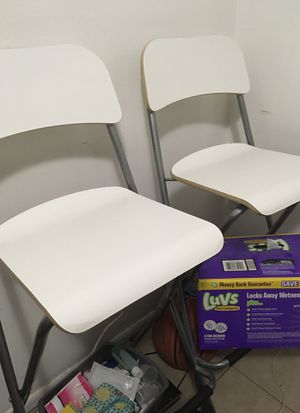 Bar chairs new condition for Sale in Clearwater, FL