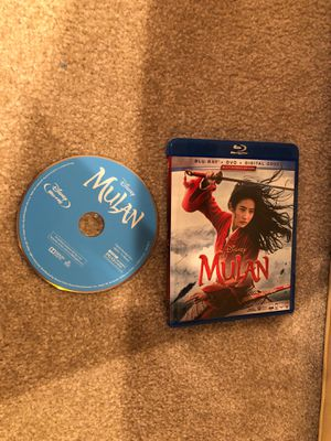 Mulan - Disney Live Action Blu-ray for Sale in Tustin, CA