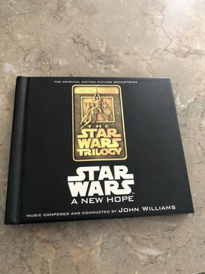 The Star Wars trilogy a new hope sound track with booklet inside for Sale in Gilbert, AZ