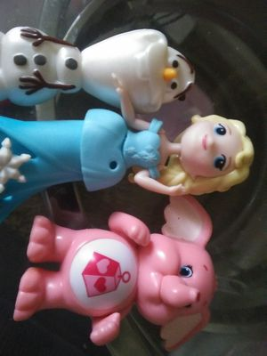 Kids toys else and olof and a care bare never played with for Sale in Colorado Springs, CO