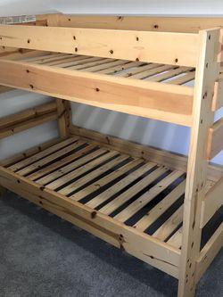Wooden Bunk Bed Twin for Sale in Phoenix,  AZ
