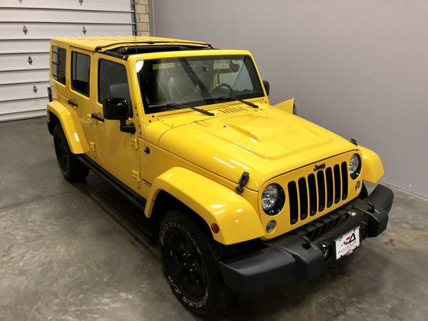 JEEP UNLIMITED ALTITUDE SPORT UTILITY