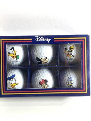 Disney Pro Collection Set of 6 Club De Mickey Goofy Pluto Golf Balls *Open Box* for Sale in Castro Valley, CA
