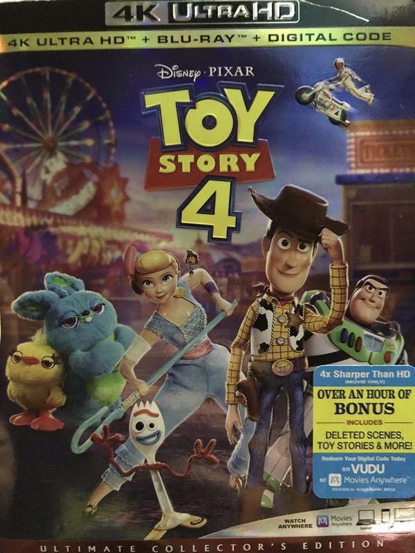 4K ultra Disney's HD TOY STORY 4 *DEALS*