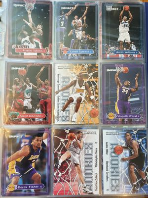 Skybox Impact complete NBA basketball card set for Sale in Gresham, OR