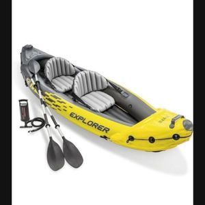 Brand New in Box Intex Explorer K2 Kayak. 2-Person Inflatable Kayak for Sale in Torrance, CA
