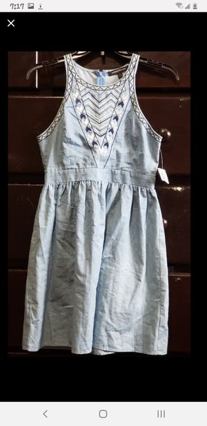 Cute denim dress by jealous tomatoes for Sale in West Covina, CA
