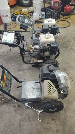 Pressure washers several to choose from. for Sale in Freedom, PA