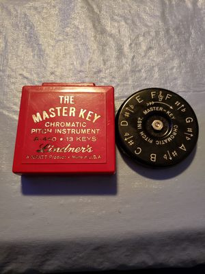 The Master Key Chromatic Pitch Instrument for Sale in New Carlisle, OH