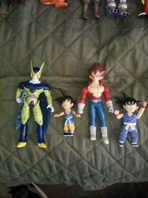 2003/2004 Dragon Ball GT Action Figures for Sale in Wildomar, CA