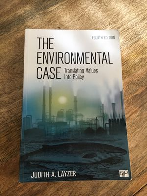The Environmental Case: Translating Values into Policy (fourth edition) for Sale in Manassas, VA