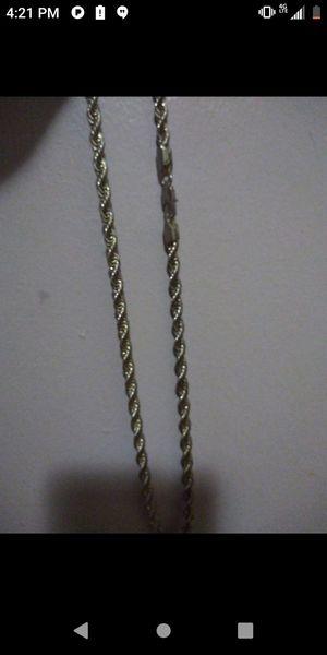 Sterling silver chain for Sale in Detroit, MI