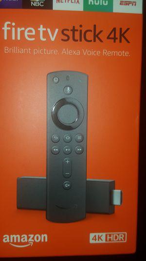 Amazon fire TV stick 4k unlocked for Sale in St. Petersburg, FL