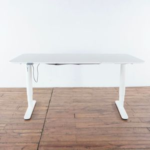 Intertek Contemporary Laminate and White Metal Standing Desk (1022331) for Sale in South San Francisco, CA