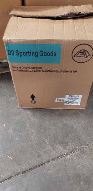 Ozark Trail hunting storage box/cooler for Sale in Tarpon Springs, FL