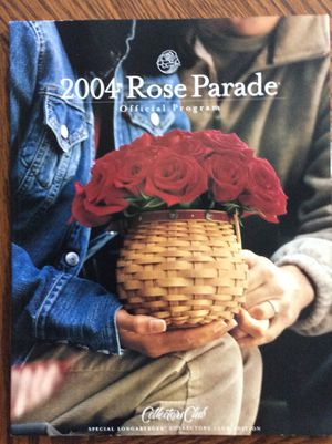 Longaberger Collectors Club 2004 Rose Parade program for Sale in Louisville, KY