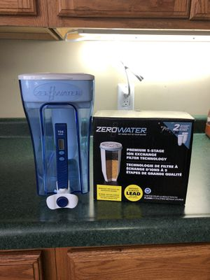 Zerowater Dispenser/Filters for Sale in Big Lake, MN