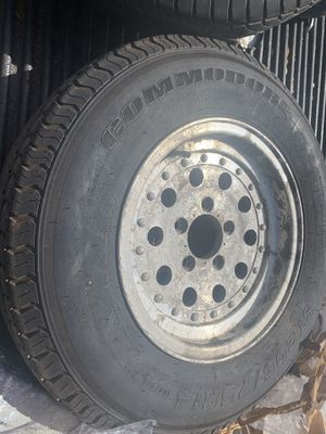 Aluminum trailer wheel St205/75r14 for Sale in Anaheim, CA