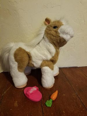 Furreal Friends Baby Butterscotch Talking Toy Horse for Sale in Tacoma, WA