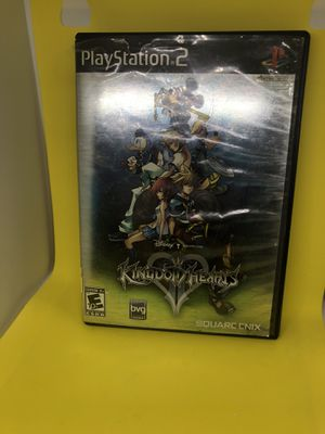 Kingdom Hearts 2 Playstation 2 PS2 Video Game Complete Mickey Mouse Disney for Sale in Atlanta, GA