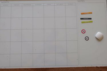 "Whiteboard Wall Calendar (14""×17"") for Sale in Lakeland,  FL"