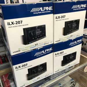 Alpine ilx-207 on sale today for 599 each has hdmi apple carplay for Sale in Downey, CA