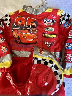 Halloween Kids Costume Cars Lightning McQueen for Sale in Chalfont, PA