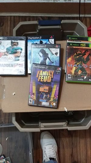 Xbox, PS2, and EA SPORTS games for sale for Sale in Columbus, OH
