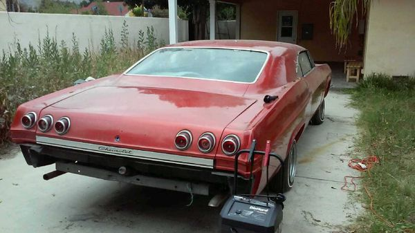 1965 chevy impala for sale in burbank ca offerup Wiring Diagram 87 Chevy Truck Fuel Gauge