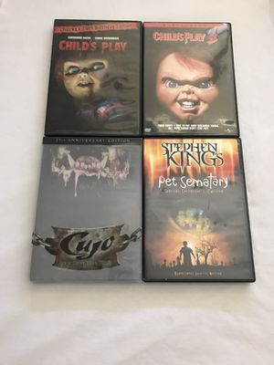 DVD 80's Classic Movies Clean Discs All For $20 for Sale in Reedley, CA