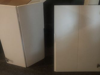 Tv Stand With Close Shut Cabinets for Sale in Portland,  OR