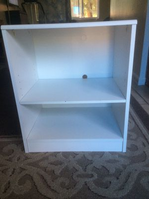 IKEA white shelf for Sale in Fremont, CA